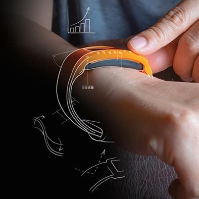 fitness band elastomer